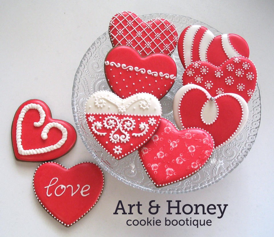 Valentine's Sugar Cookies Recipes — Dishmaps